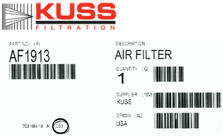 Kuss-Filtration-date-of-mfg